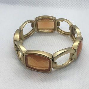 4 for $12: Gold Tone Bracelet